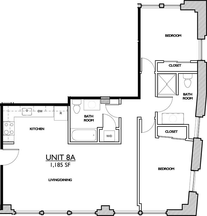 Residences 221 - Floor Plan 8A